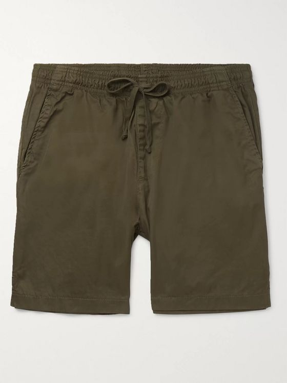 Save Khaki United Easy Slim-Fit Cotton-Twill Drawstring Shorts