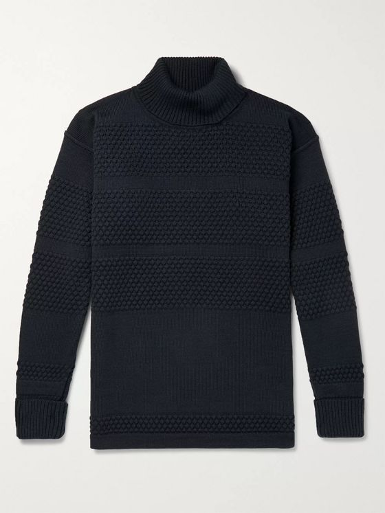 S.N.S. Herning Virgin Wool Rollneck Sweater