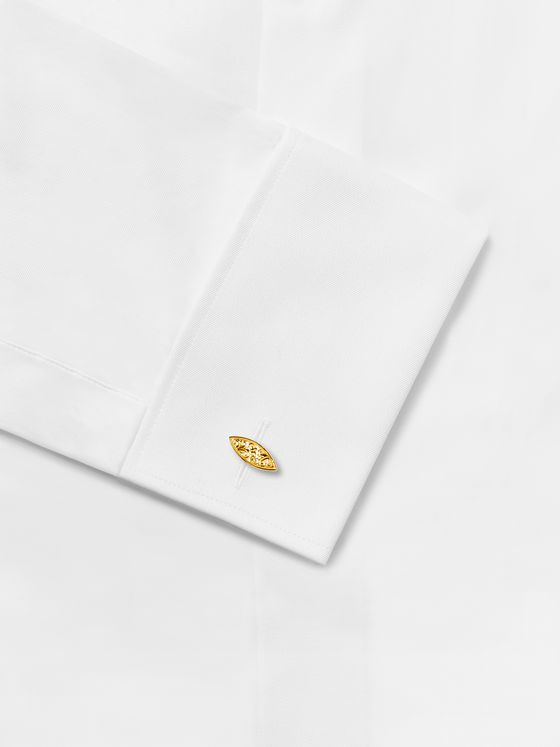 Kingsman + Deakin & Francis Engraved Gold-Plated Cufflinks