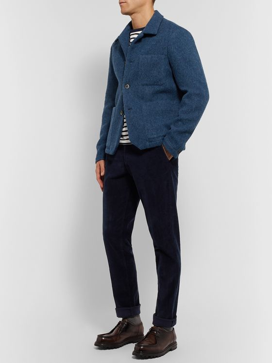 Barena Stretch-Wool Overshirt