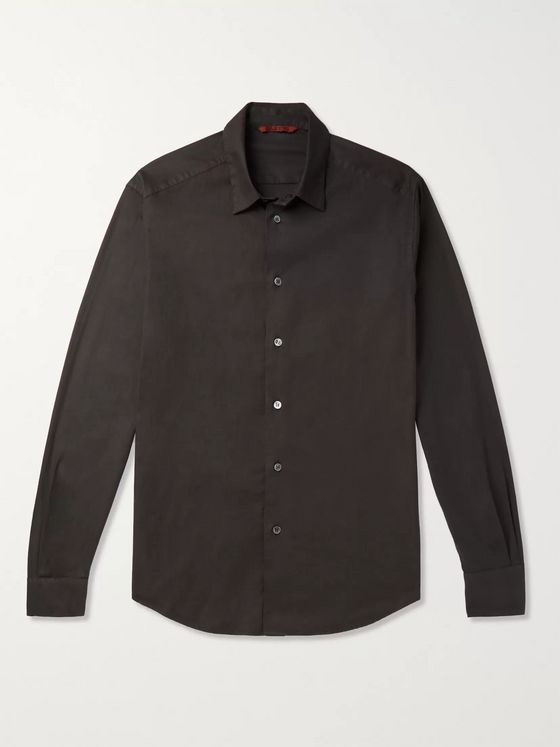 Barena Slim-Fit Cotton-Twill Shirt