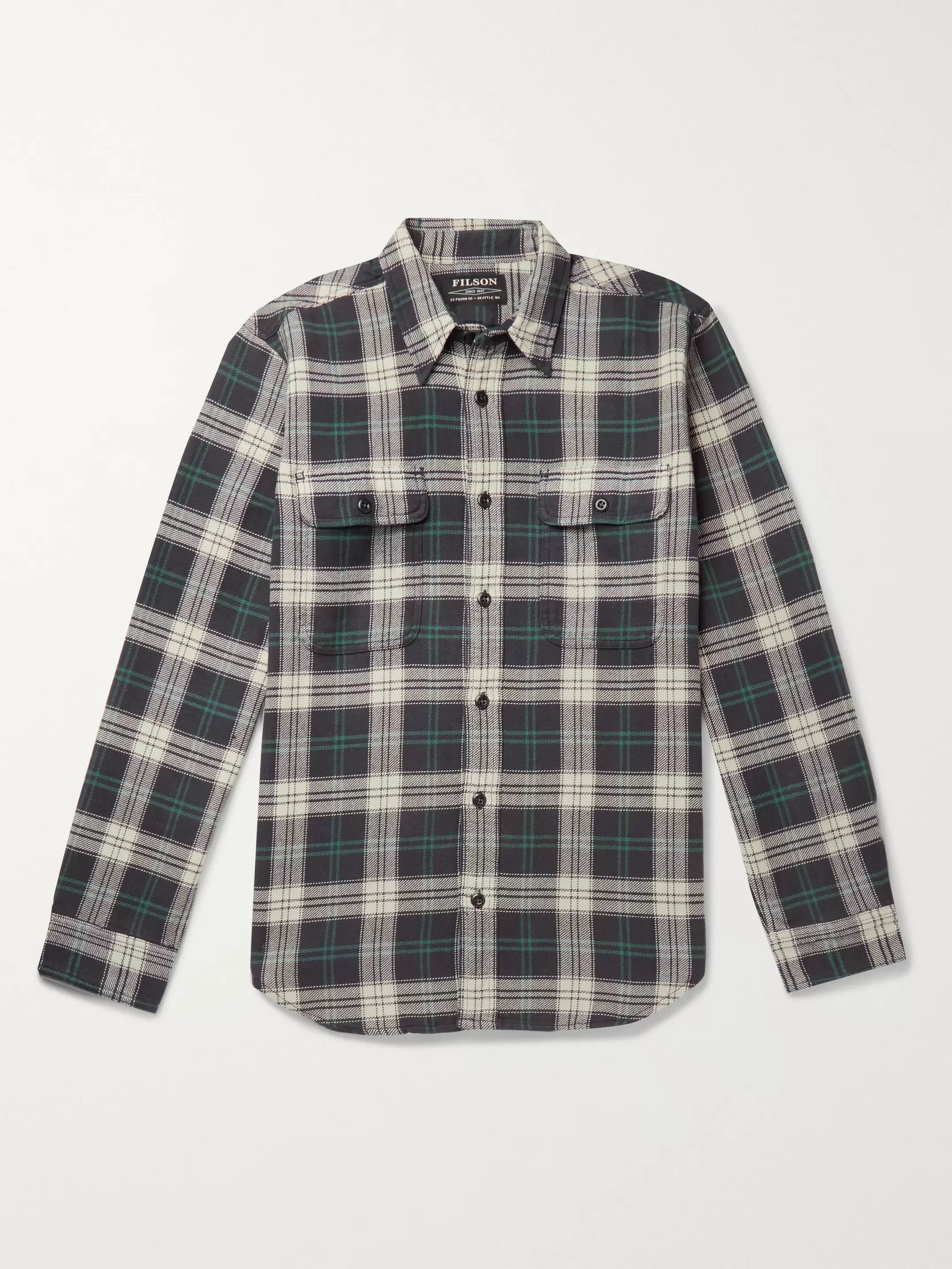 Filson Checked Cotton-Flannel Shirt