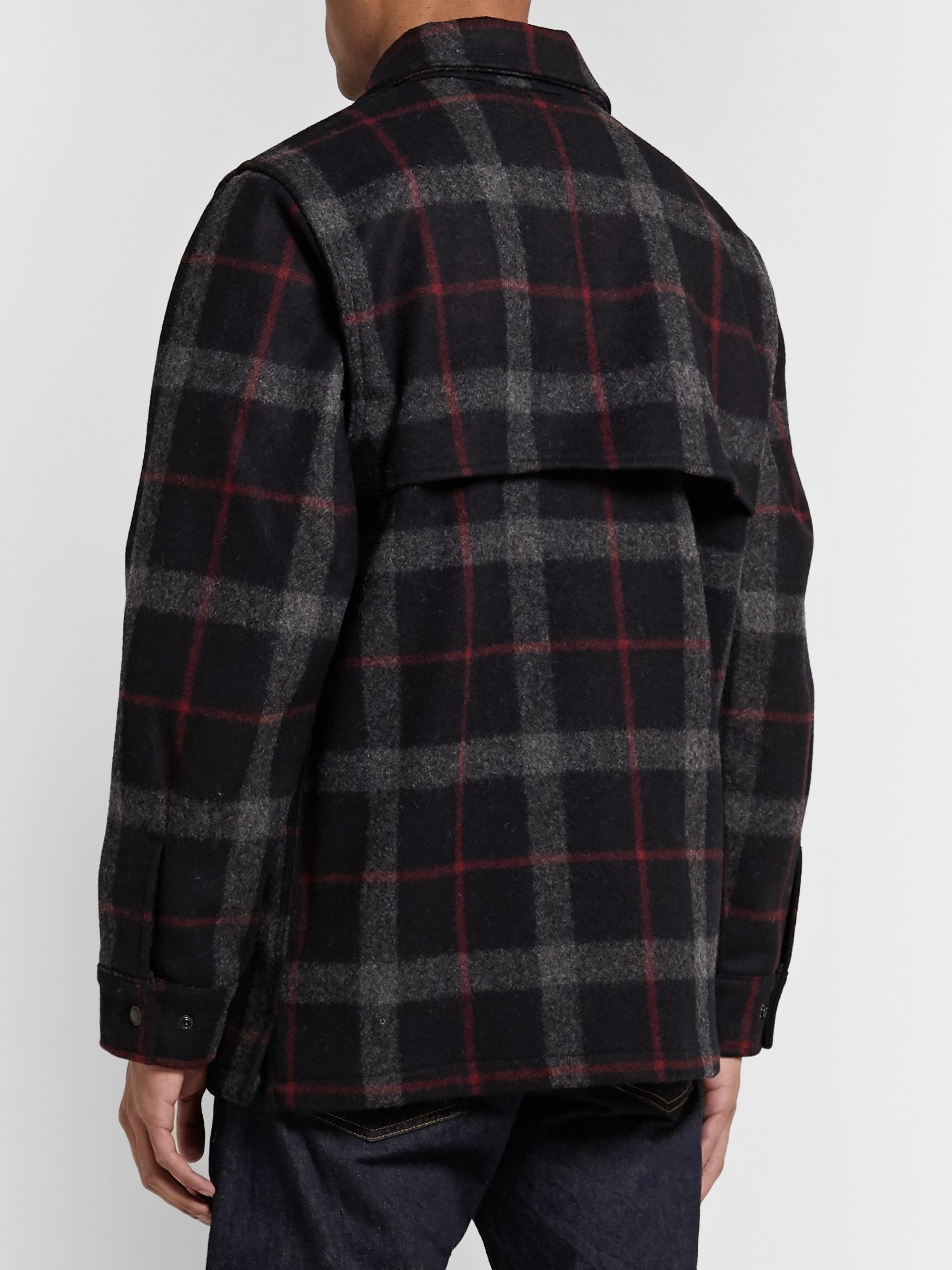 Filson Layered Checked Wool Coat