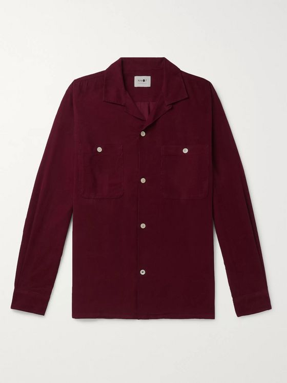 NN07 Booker 5082 Cotton-Corduroy Shirt