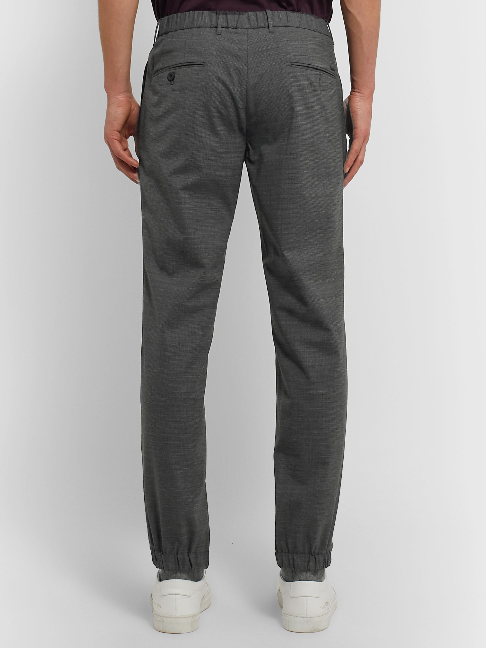Incotex Slim-Fit Puppytooth Woven Trousers
