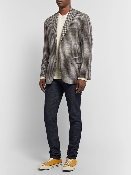 Freemans Sporting Club Slim-Fit Wool Blazer