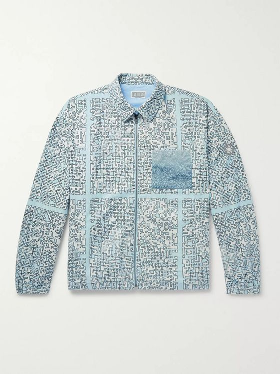 Cav Empt Noise Printed Brushed-Cotton Jacket