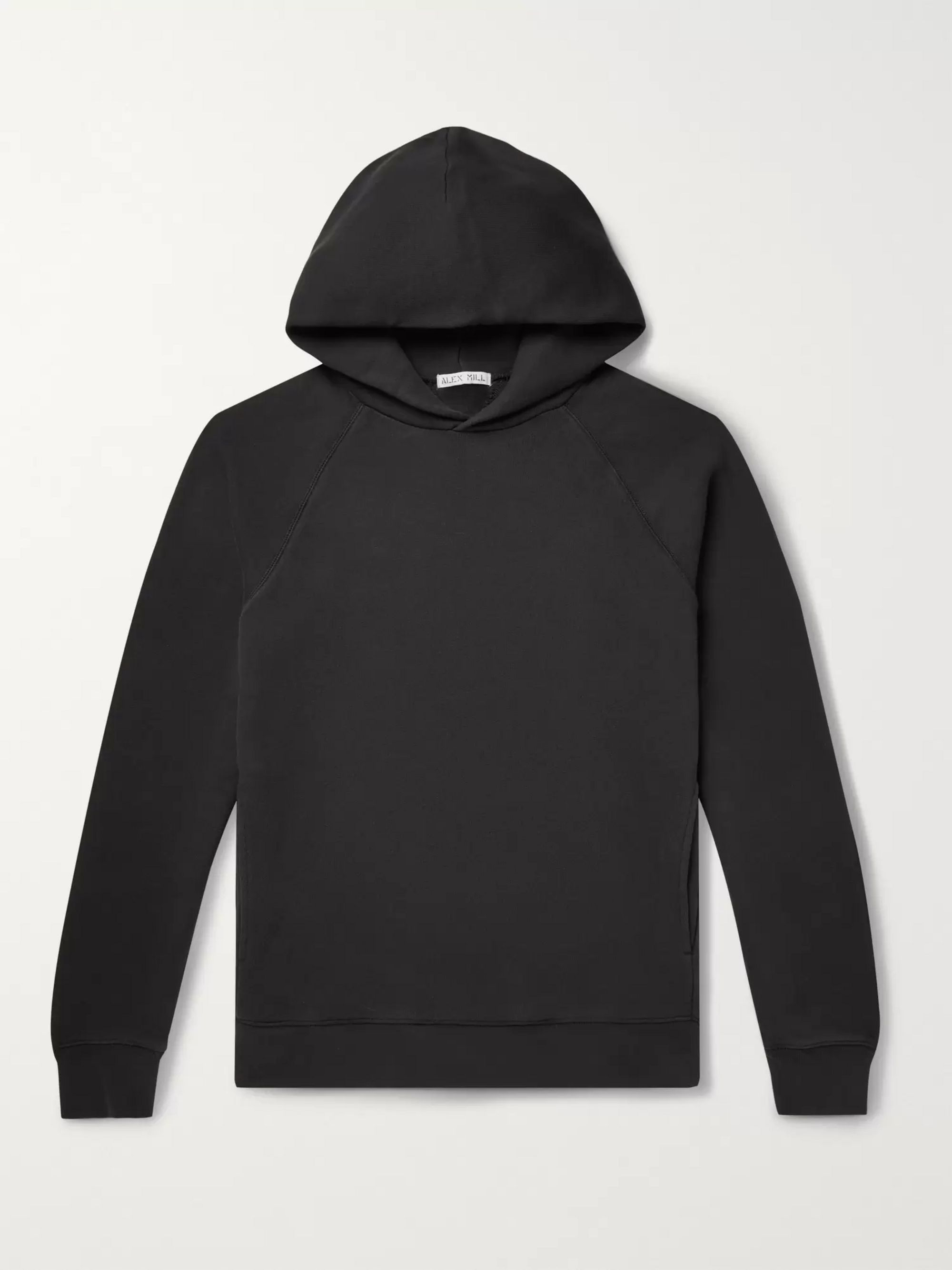 Loopback Cotton Jersey Hoodie by Alex Mill