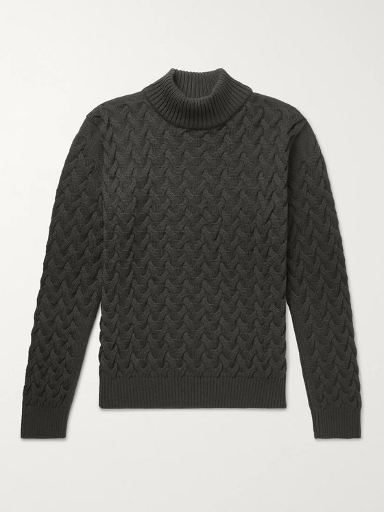 S.N.S. Herning Ribbed Wool Sweater