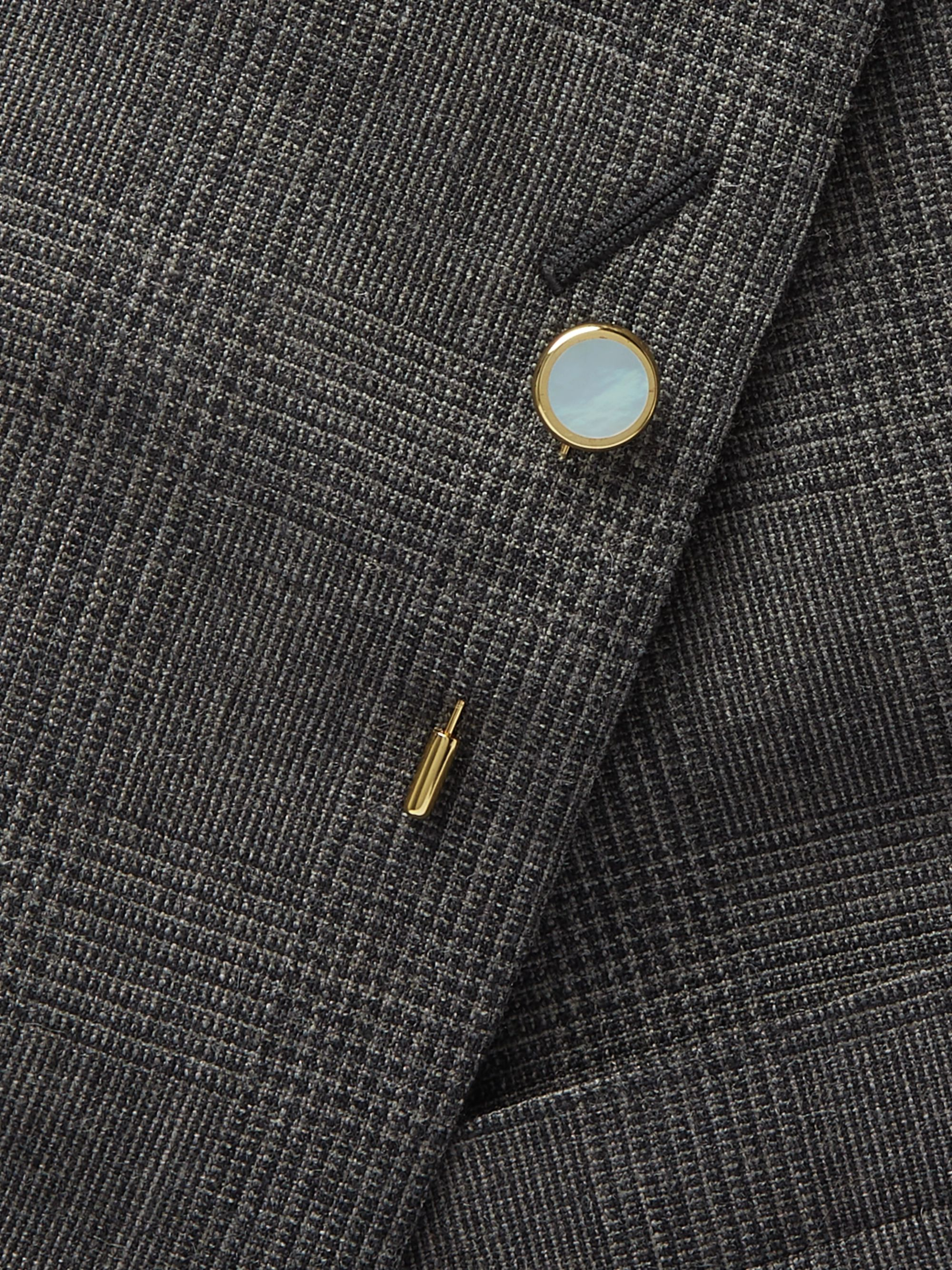 Kingsman + Deakin & Francis Gold-Plated Mother-of-Pearl Tie Pin