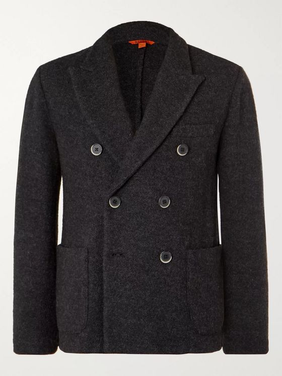 Barena Double-Breasted Wool Blazer