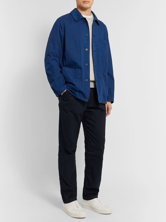 Aspesi Garment-Dyed Cotton Overshirt