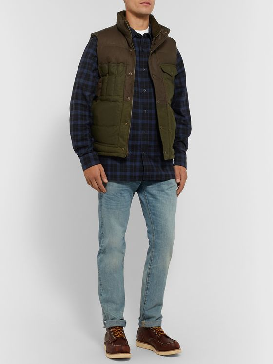 Filson Checked Cotton-Twill Shirt
