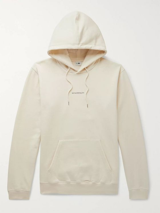 NN07 Barrow Fleece-Back Cotton-Jersey Hoodie