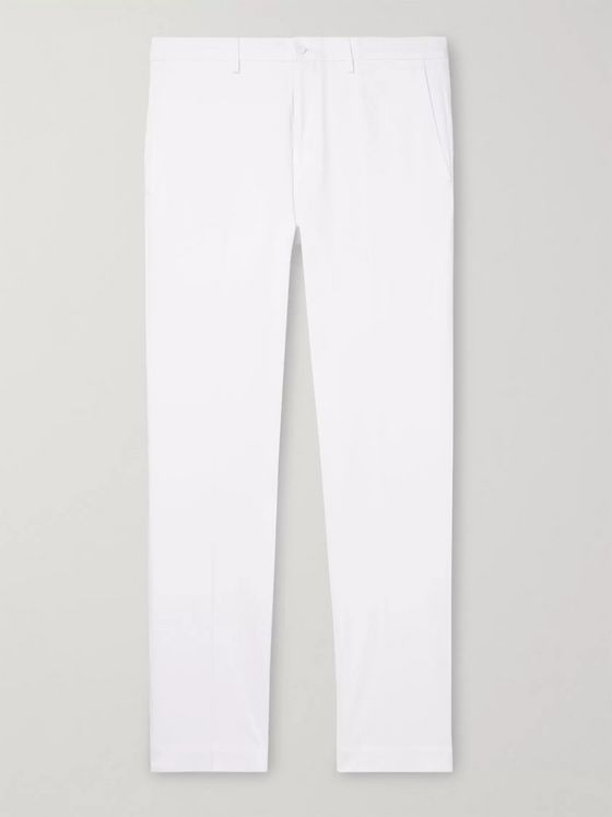 Incotex Slim-Fit Tapered Stretch-Cotton Twill Chinos