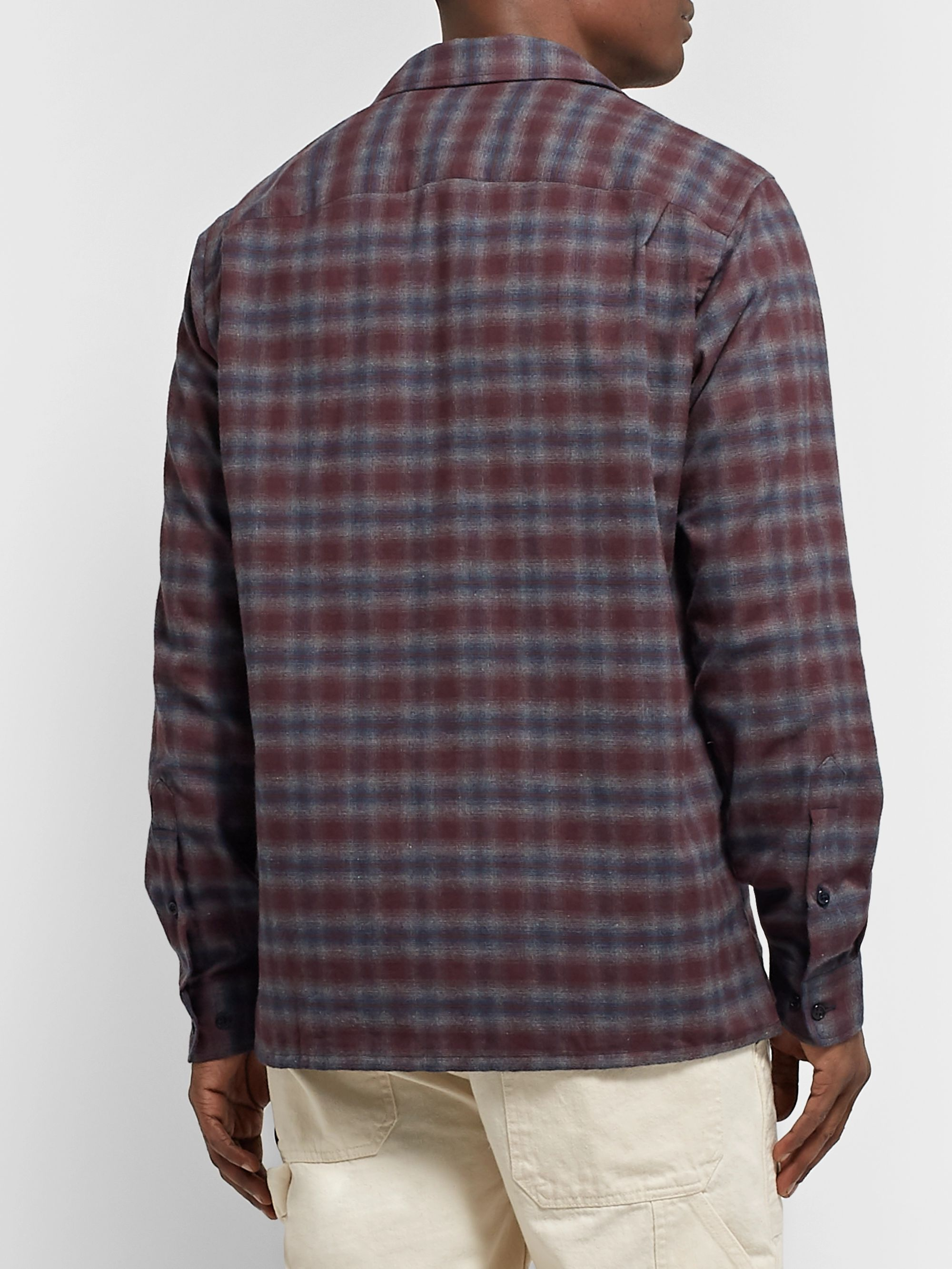 Freemans Sporting Club Checked Cotton-Flannel Shirt