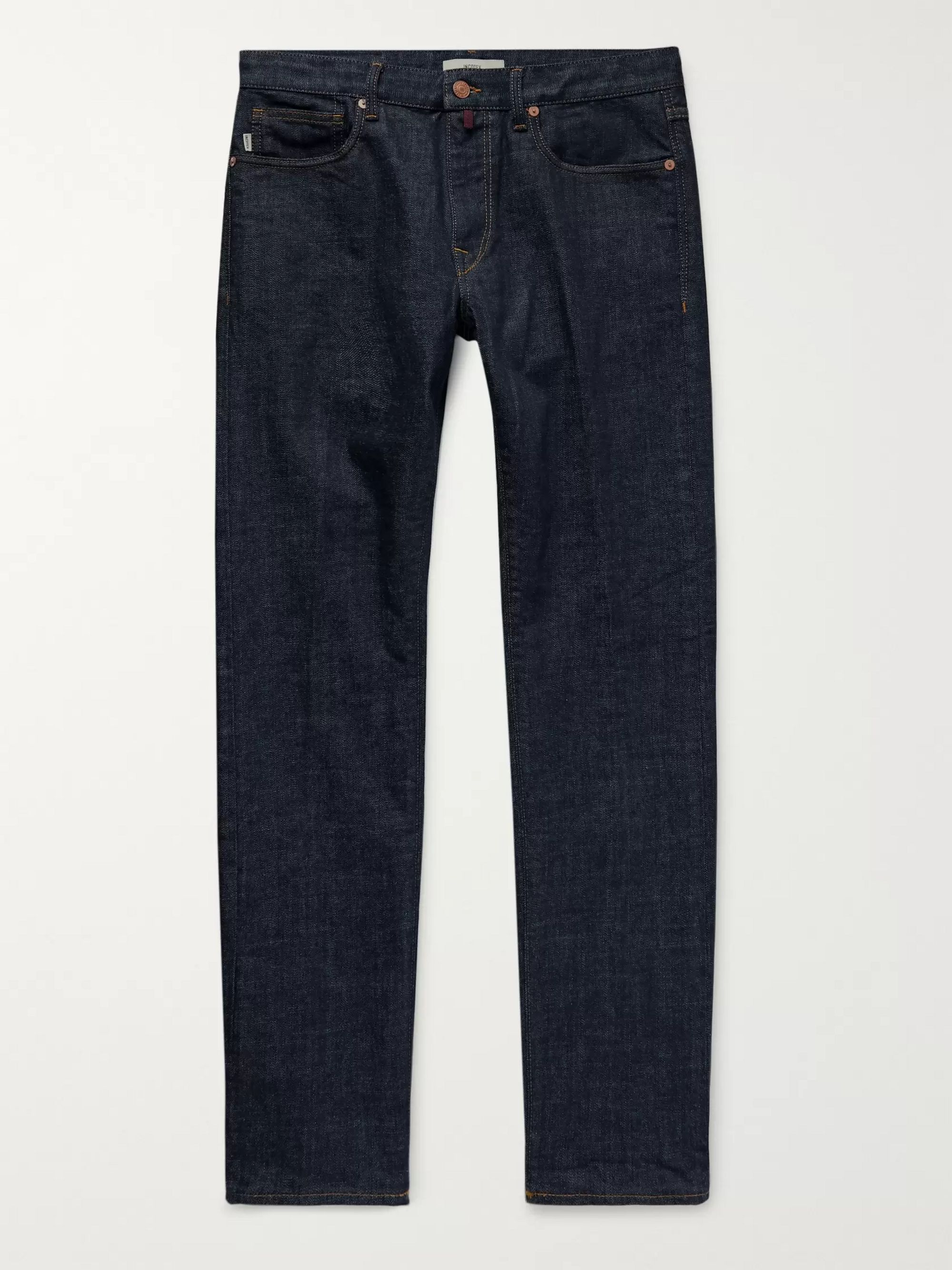 Incotex Slim-Fit Stretch-Denim Jeans