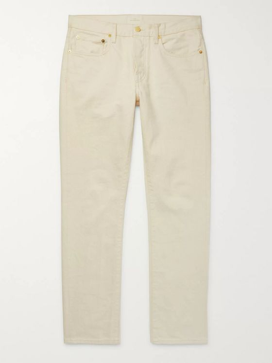 Sid Mashburn Slim-Fit Denim Jeans