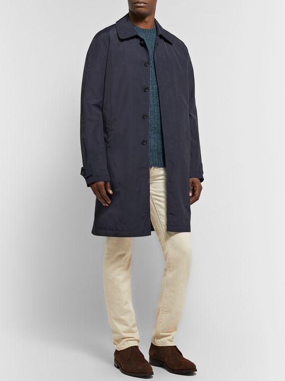 Sid Mashburn Traveler's Nylon Trench Coat