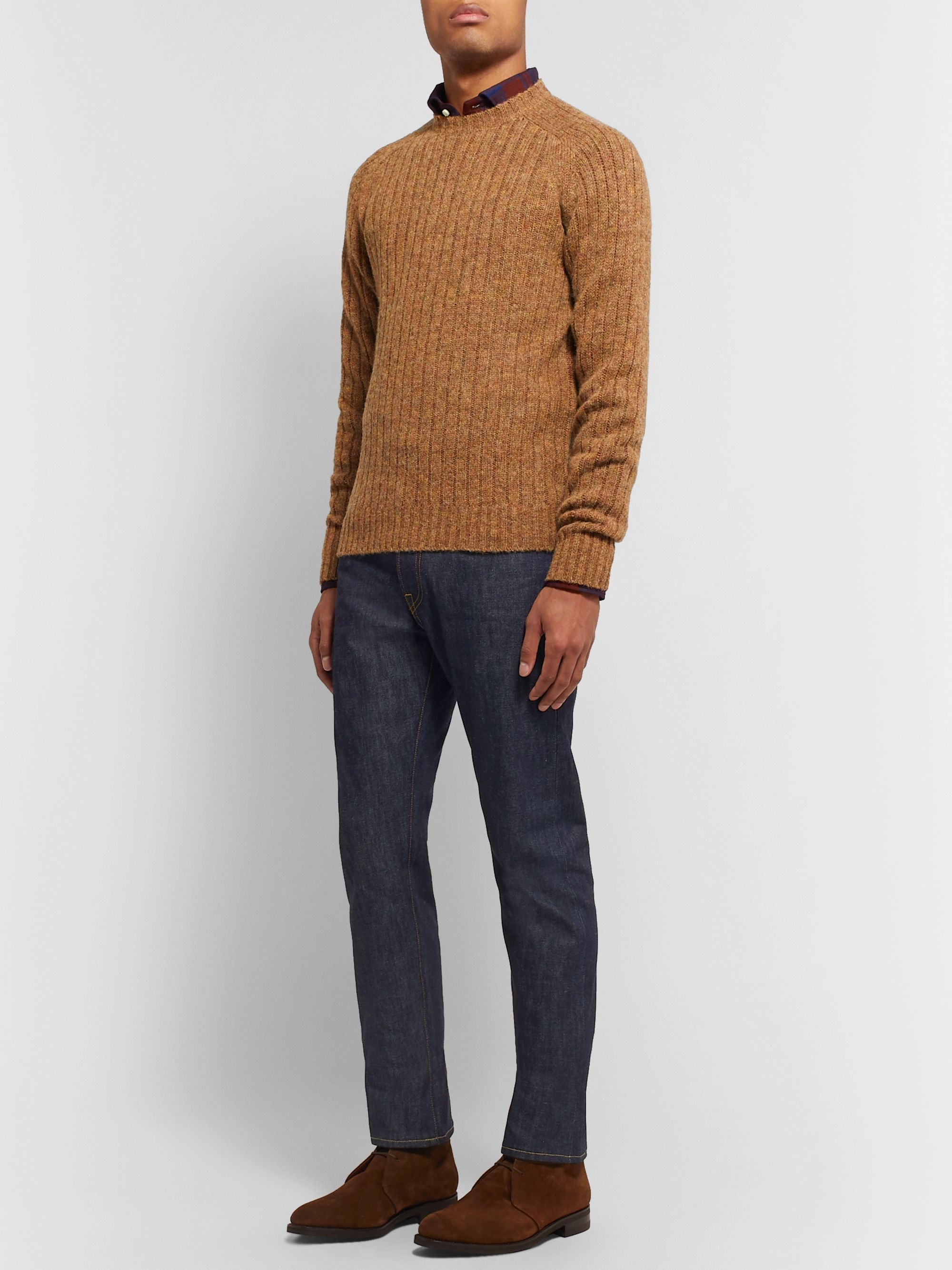 Sid Mashburn Slim-Fit Selvedge Denim Jeans
