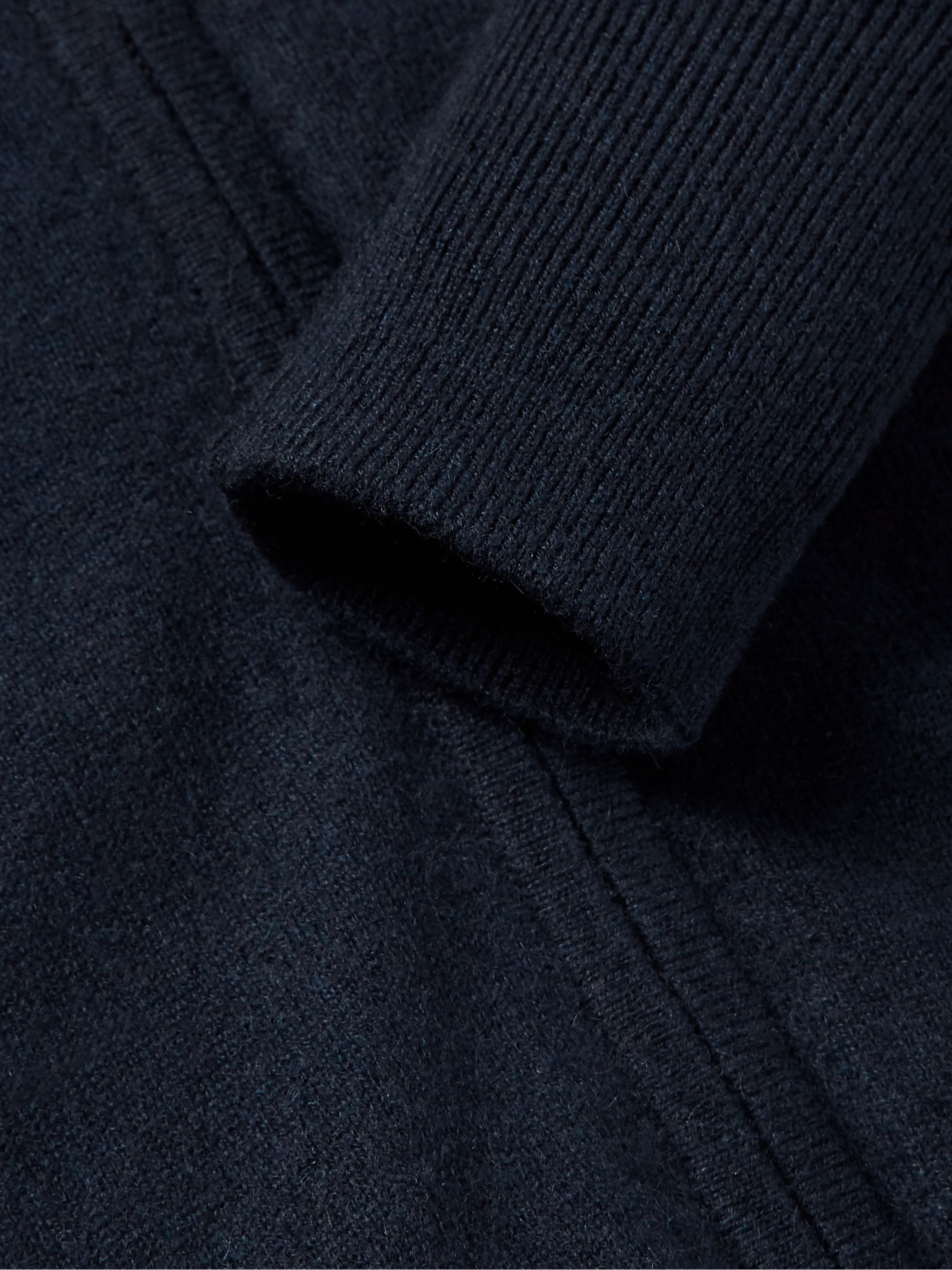 Sid Mashburn Cashmere Zip-Up Sweater
