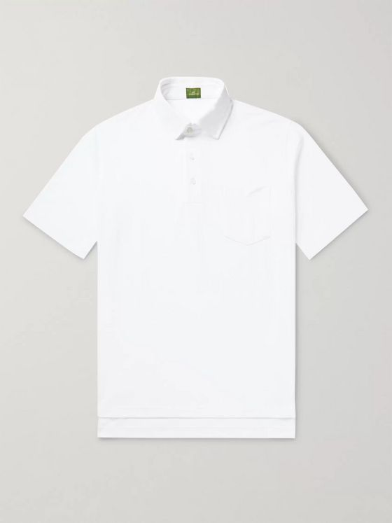 SID MASHBURN Pima Cotton-Piqué Polo Shirt