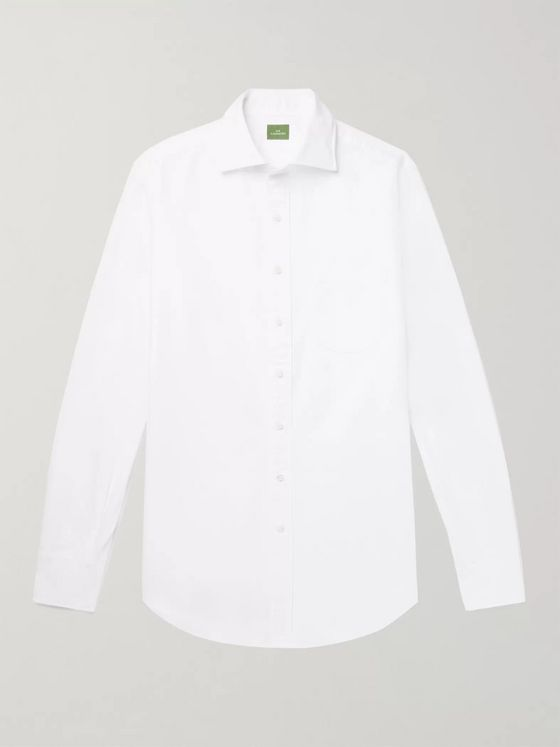 Sid Mashburn Slim-Fit Cotton Oxford Shirt