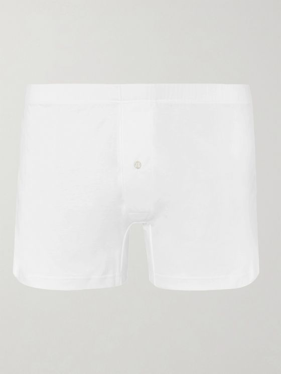 Zimmerli Sea Island Cotton Boxer Shorts