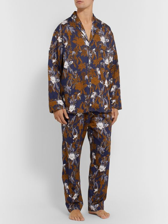 Zimmerli Printed Cotton Pyjama Set