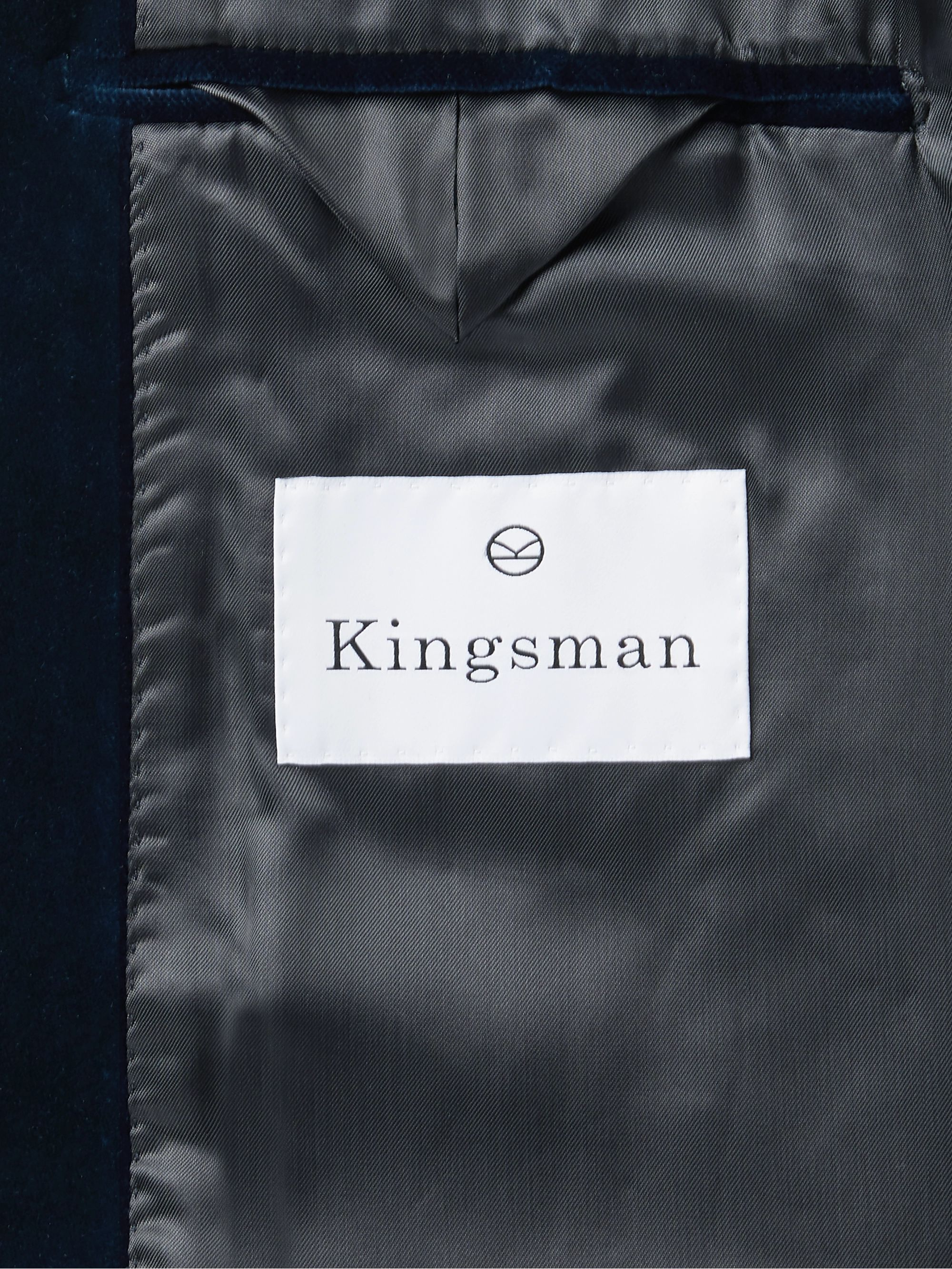 Kingsman Slim-Fit Cotton-Velvet Tuxedo Jacket
