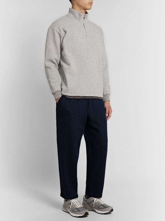 Pilgrim Surf + Supply Harry Brushed Wool-Blend Trousers