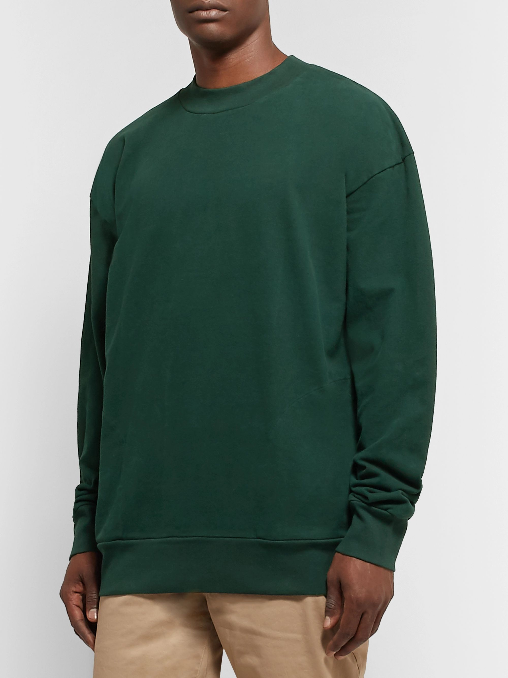 Pilgrim Surf + Supply Alby Brushed Cotton-Jersey Sweatshirt