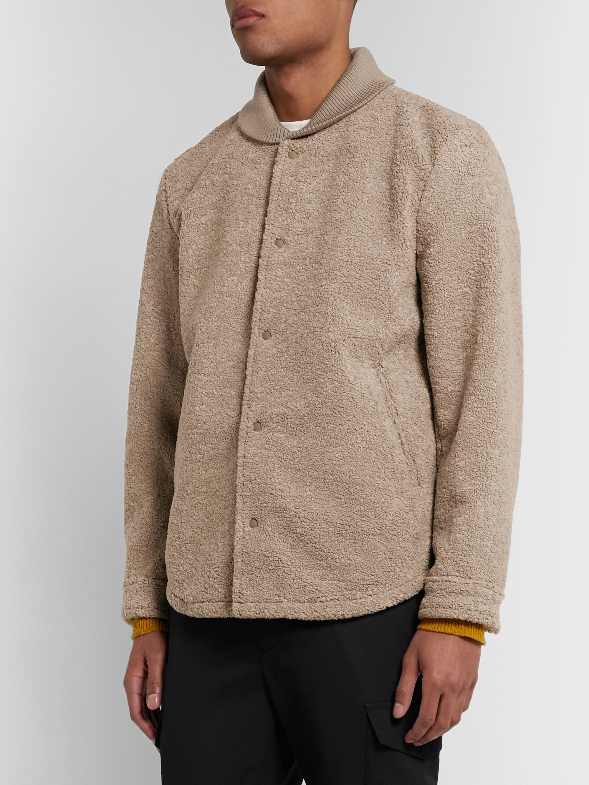 Club Monaco Fleece Jacket
