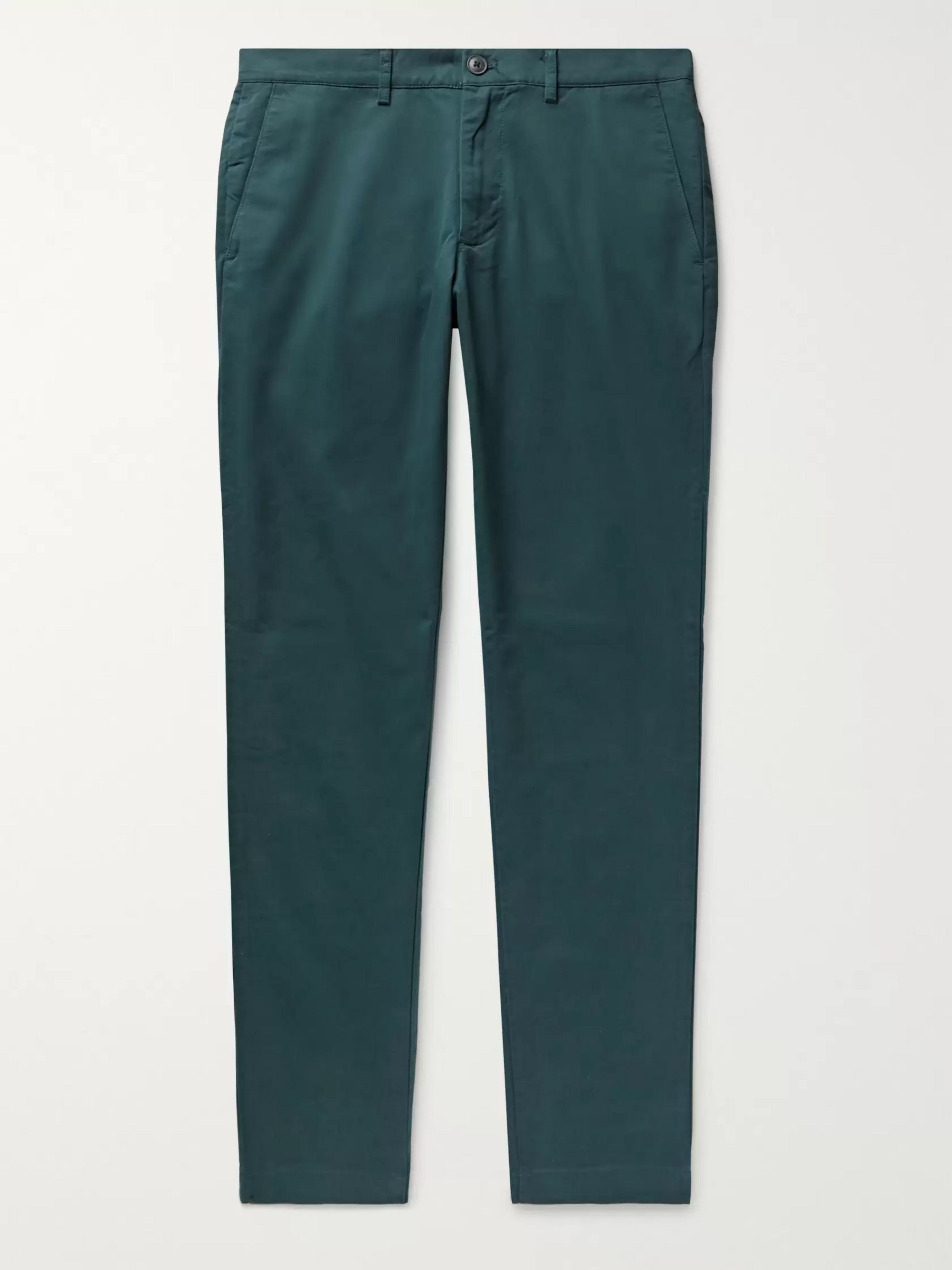 connor-slim-fit-cotton-blend-twill-chinos by club-monaco