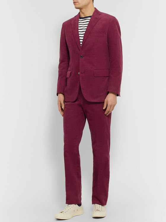 Freemans Sporting Club Slim-Fit Cotton-Corduroy Suit Jacket