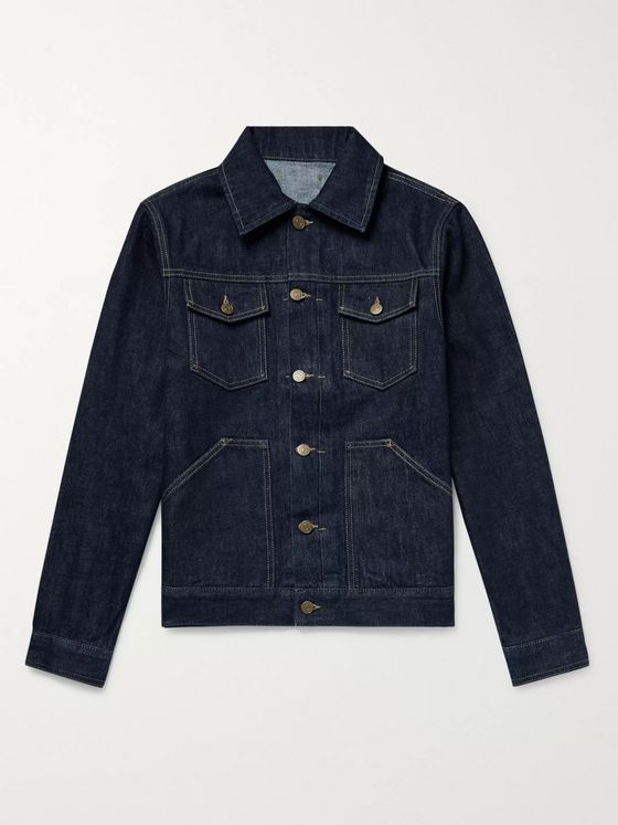The Workers Club Denim Jacket
