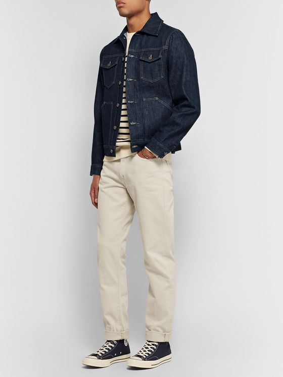 The Workers Club Selvedge Denim Jacket