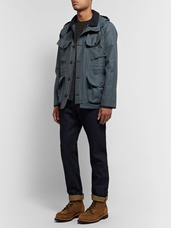 The Workers Club Storm System Wool-Twill Field Jacket