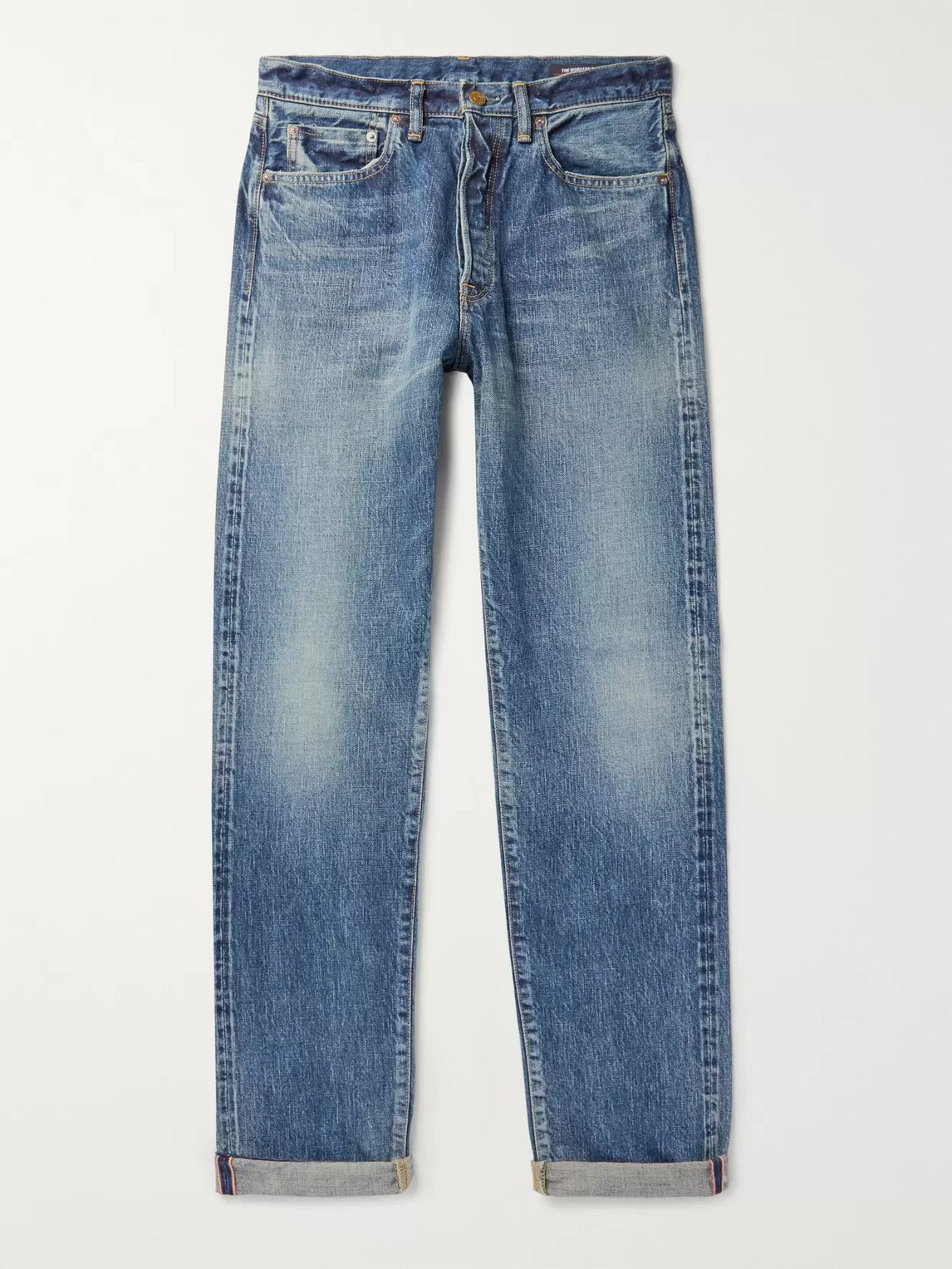 The Workers Club Selvedge Denim Jeans In Blue