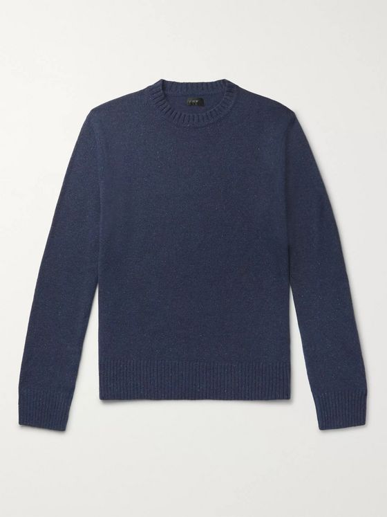 J.Crew Donegal Merino Wool-Blend Sweater