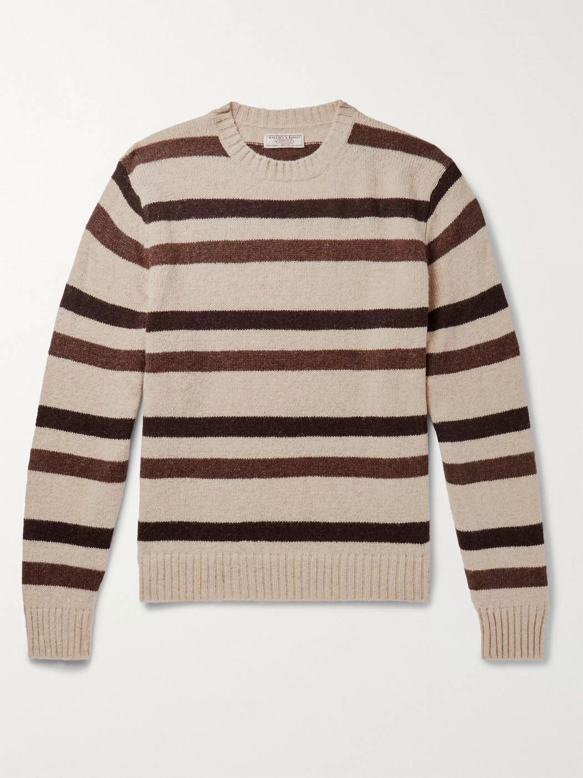 striped-wool-sweater by jcrew