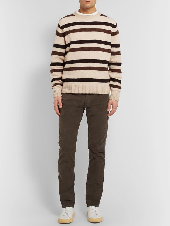 J.Crew Striped Wool Sweater