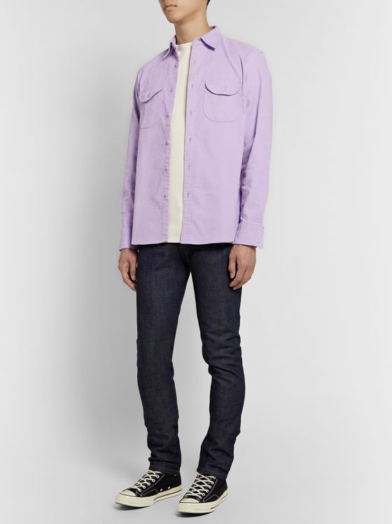 J.Crew Stretch-Cotton Corduroy Overshirt