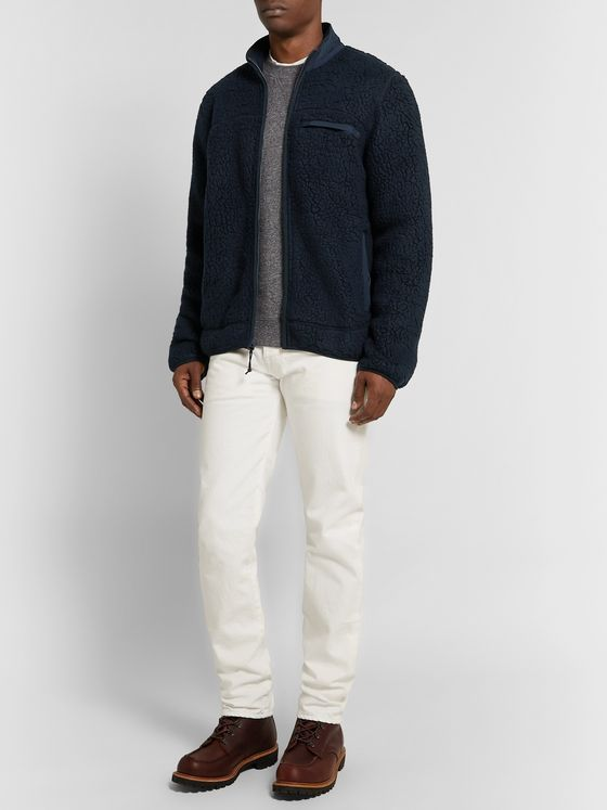 J.Crew Nordic Polartec Fleece Zip-Up Jacket