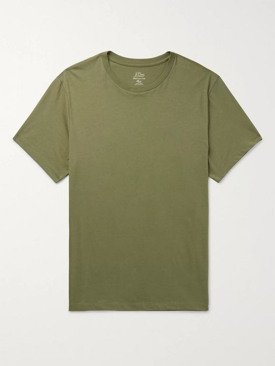J.Crew Essential Cotton-Jersey T-shirt