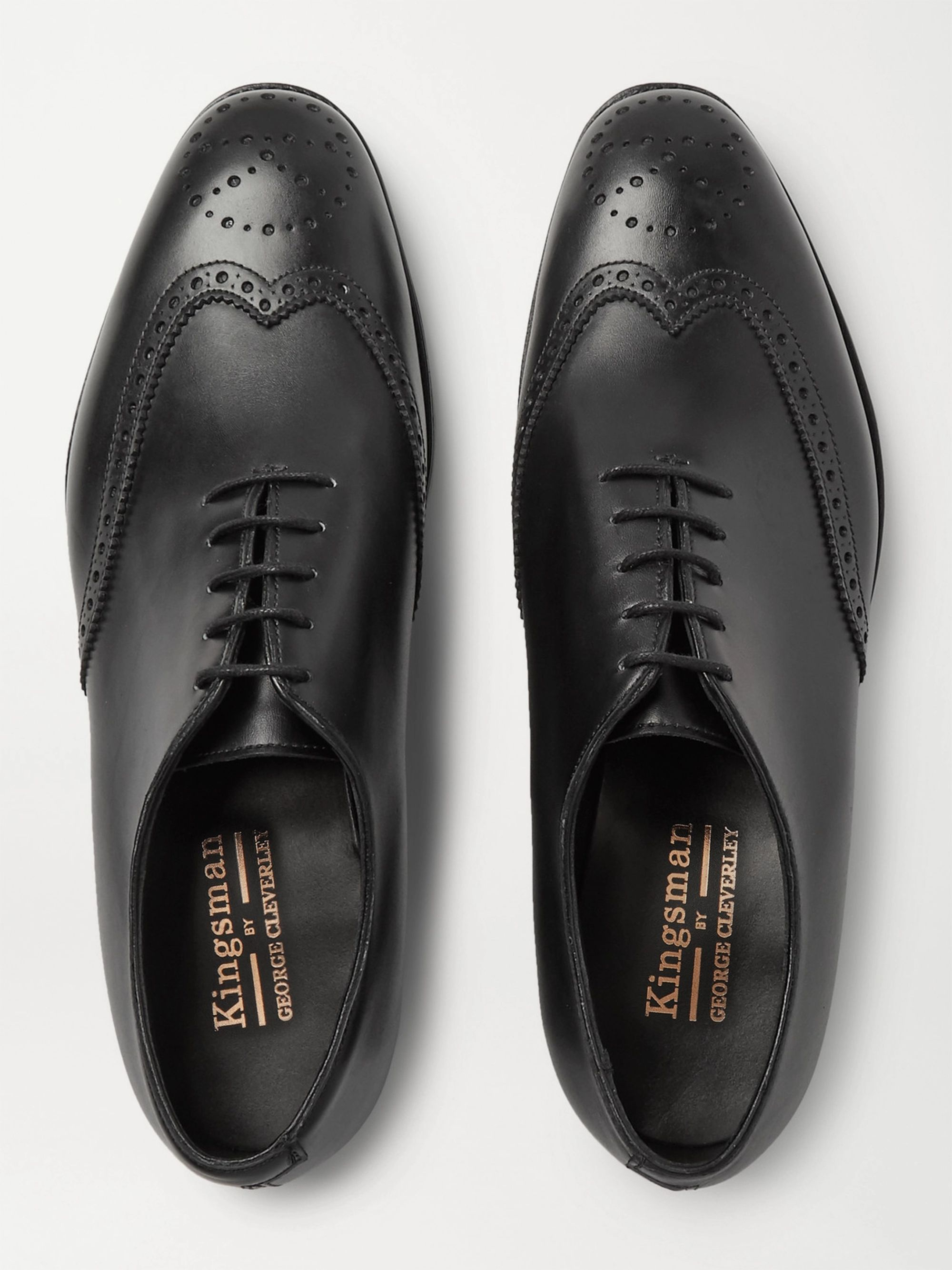 Kingsman + George Cleverley Leather Brogues