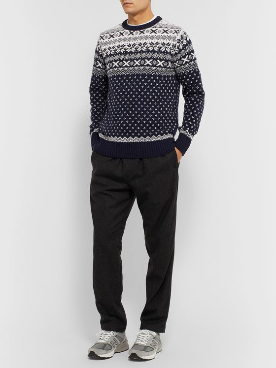 Howlin' Lawrence Fair Isle Wool Sweater
