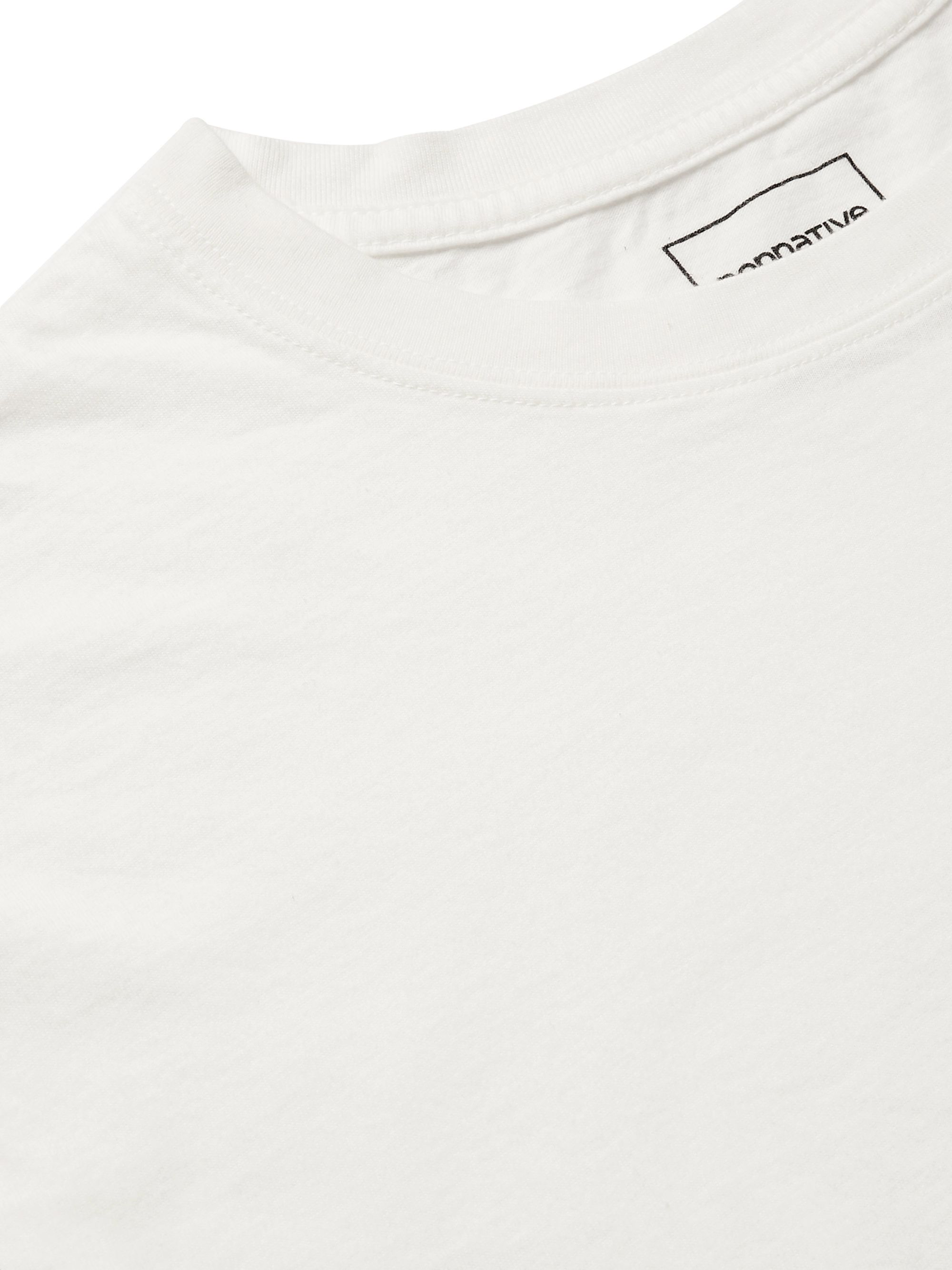 nonnative Logo-Print Cotton-Jersey T-Shirt