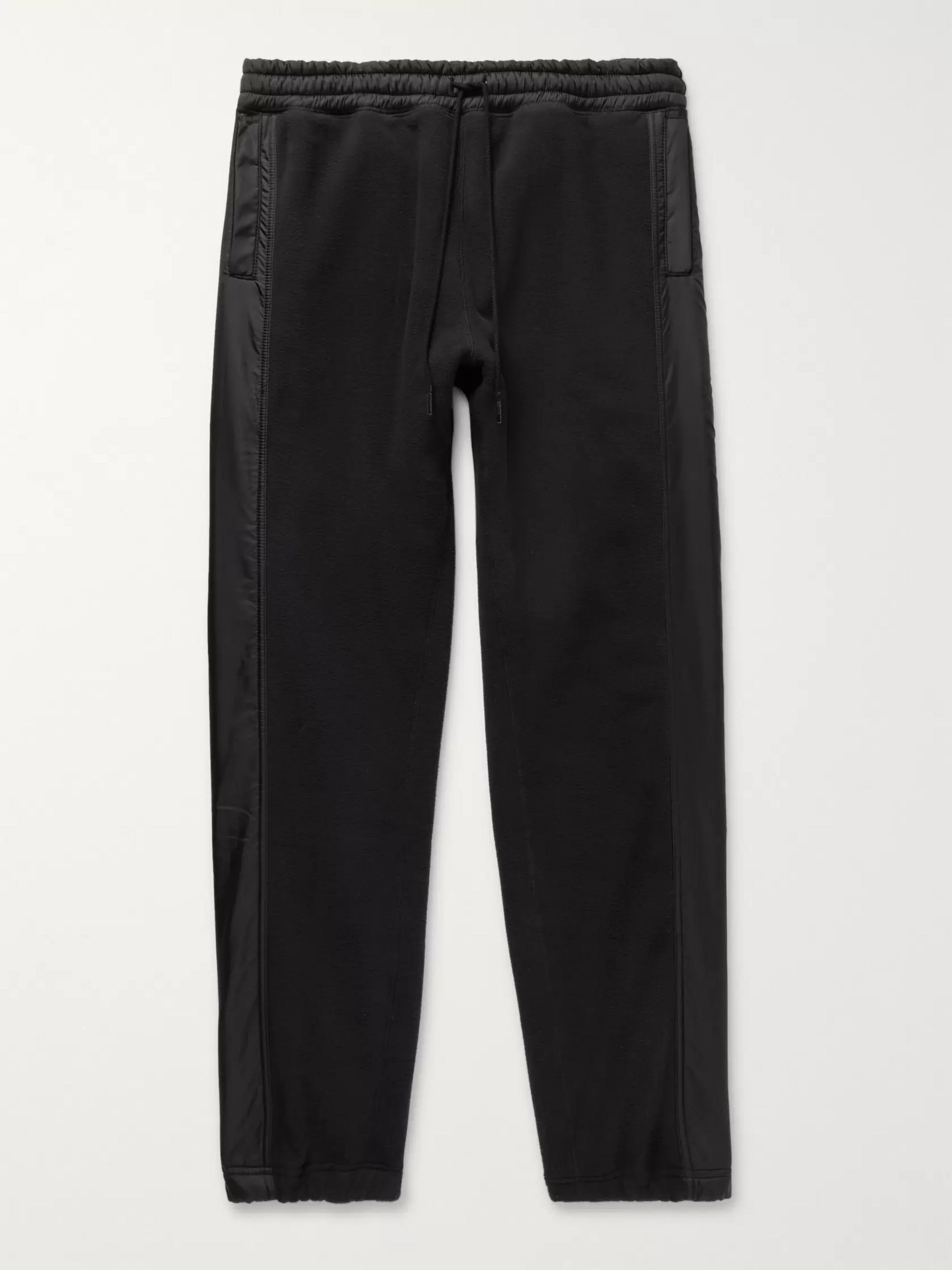 Hiker Tapered Shell Trimmed Polartec Fleece Sweatpants by Nonnative