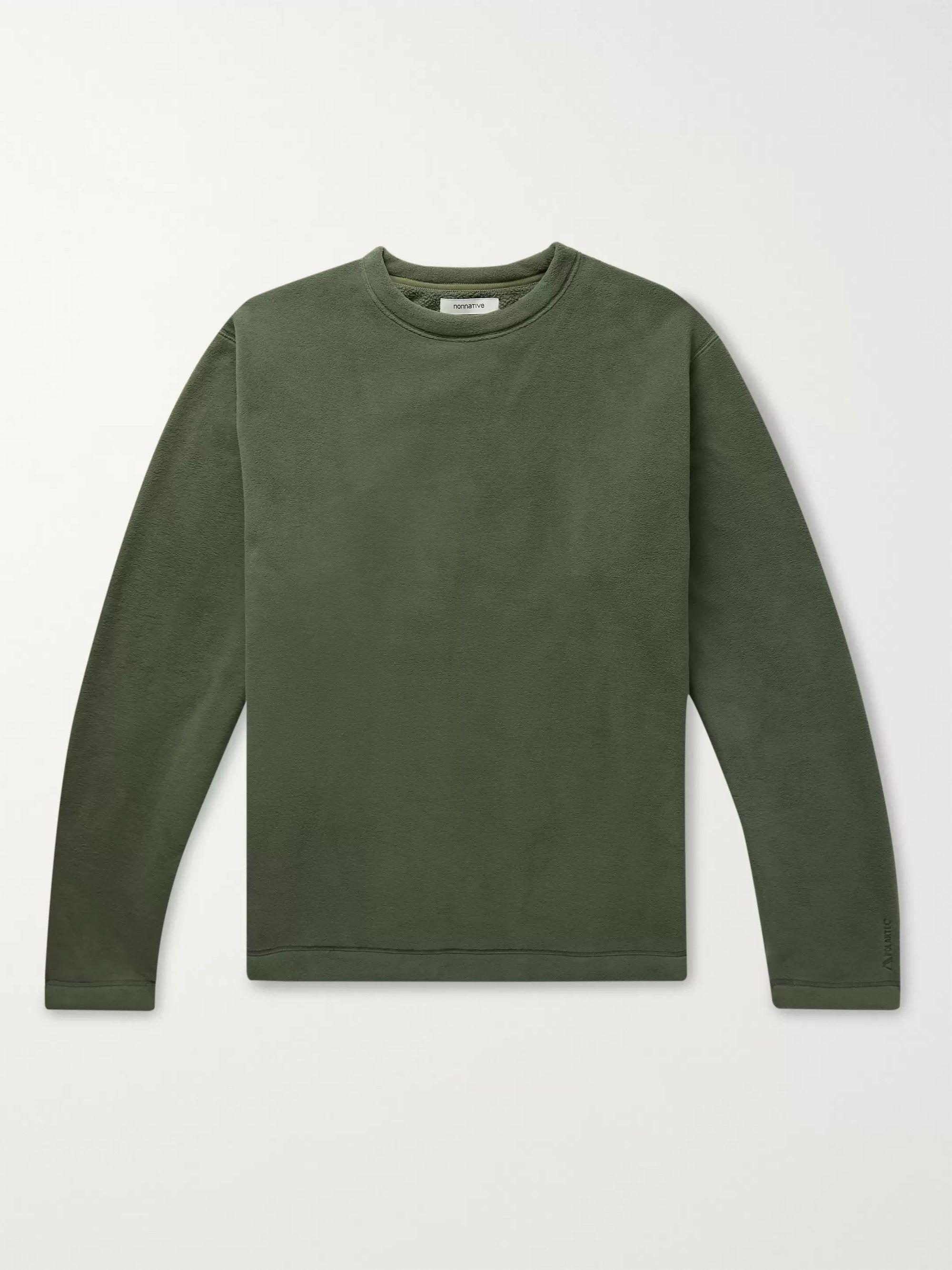 Coach Shell Trimmed Polartec Fleece Sweatshirt by Nonnative